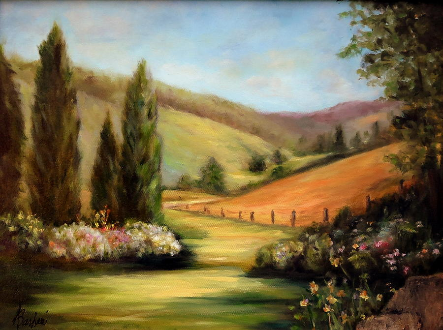 8c80993251cb Bella Valle Painting by Anne Barberi