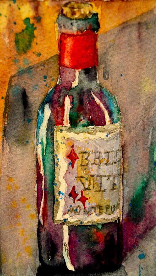 Wine Painting - Bella Vita by Beverley Harper Tinsley