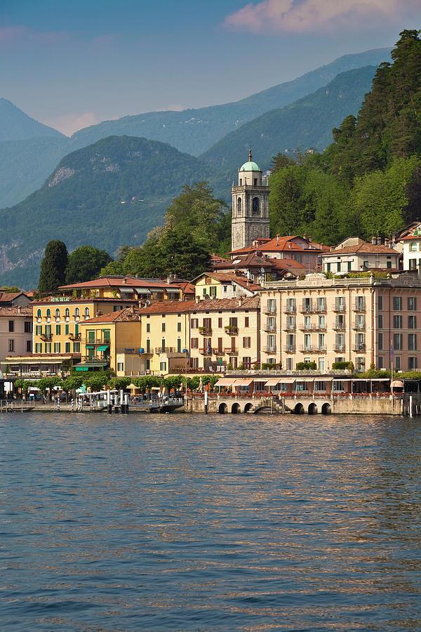 Bellagio On Lake Como Photograph by Richard Ianson