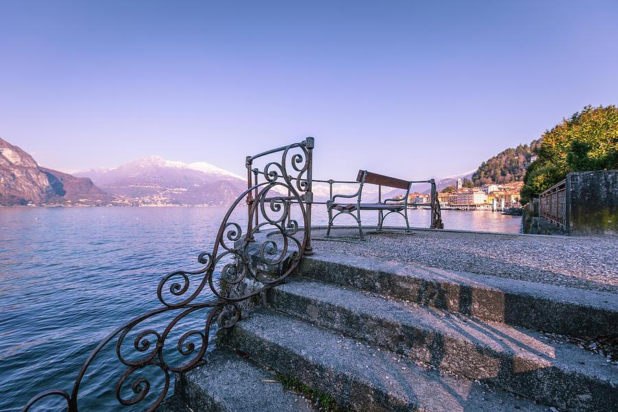 Bellagio View, Como Lake Photograph by Deimagine