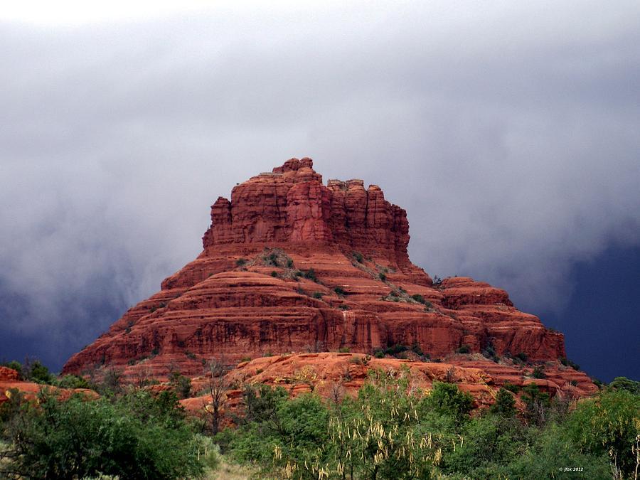 Bell Rock Photograph - Belle by Jimmy Fox