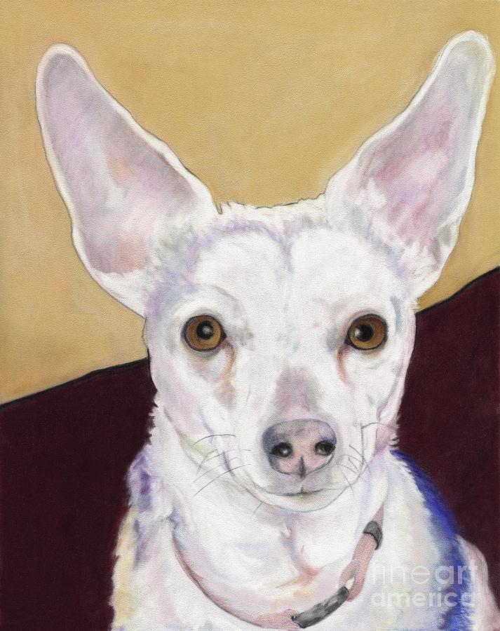 Rat Terrier Pastel - Belle by Pat Saunders-White