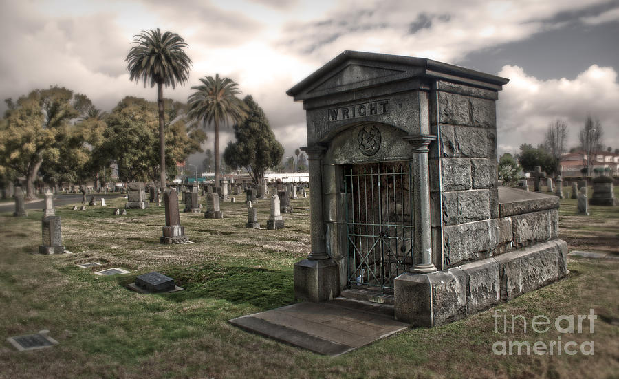 Bellevue Photograph - Bellevue Cemetery by Gregory Dyer