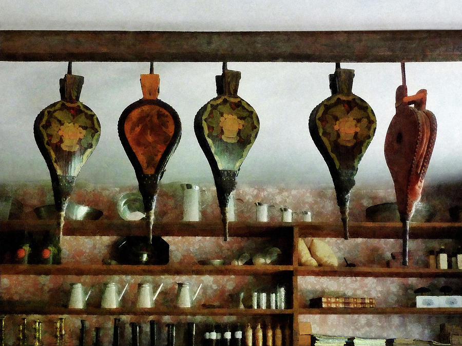 Shelf Photograph - Bellows In General Store by Susan Savad