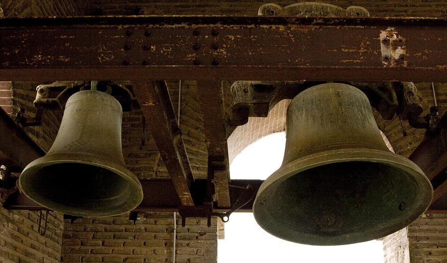 Toledo Photograph - Bells Of Jesuits Church by Lorraine Devon Wilke