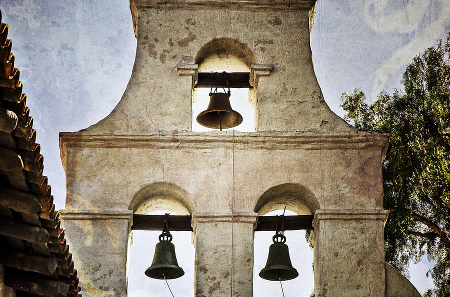 Bells Of Mission San Diego Photograph
