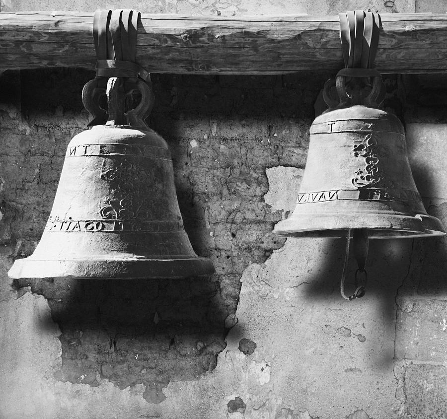 San Juan Capistrano Photograph - Bells Of San Juan Capistrano by Larry Butterworth