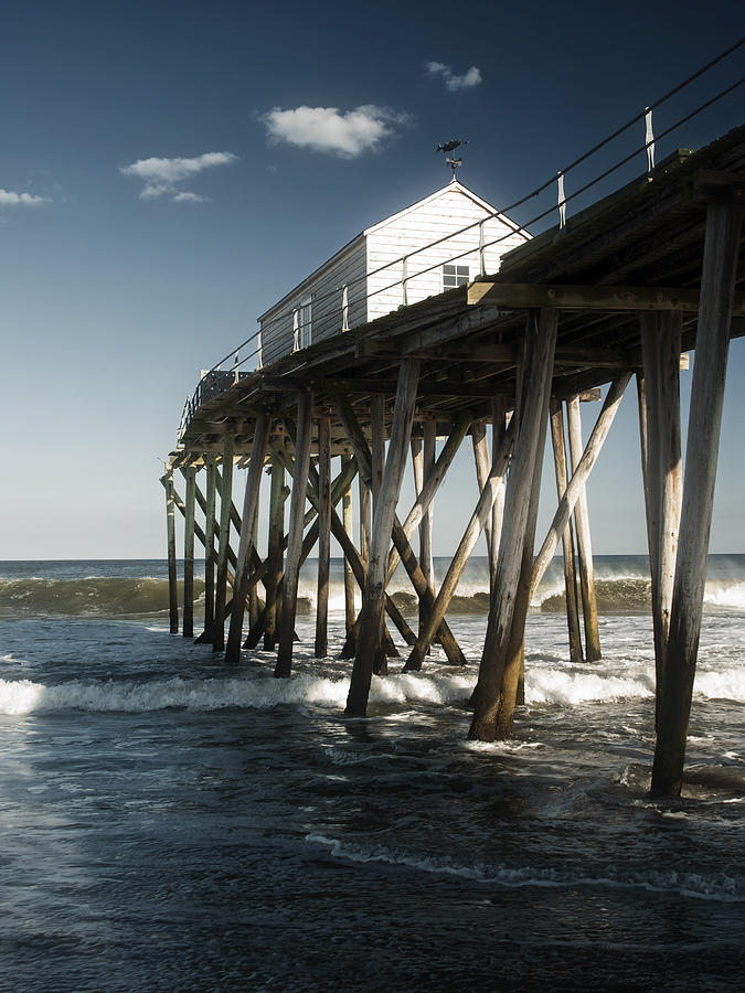 Belmar Photograph - Belmar Beach by Wayne Gill