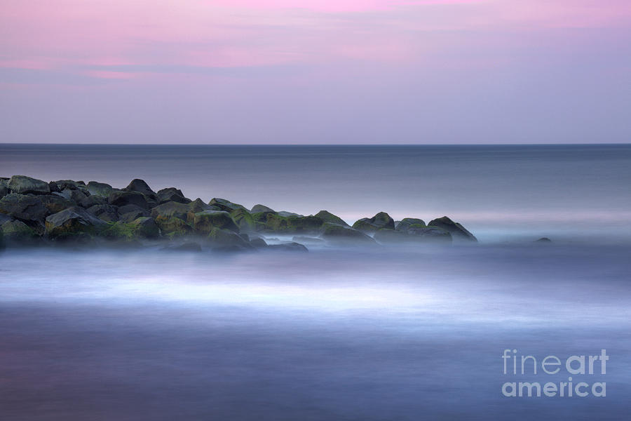 Seascape Photograph - Belmar On The Rocks by Marco Crupi