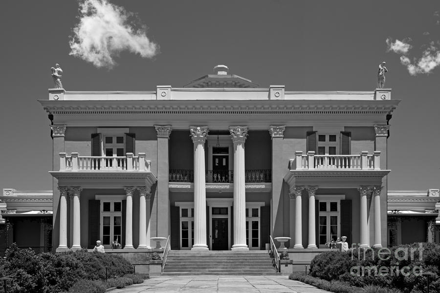 American Photograph - Belmont University Belmont Mansion by University Icons