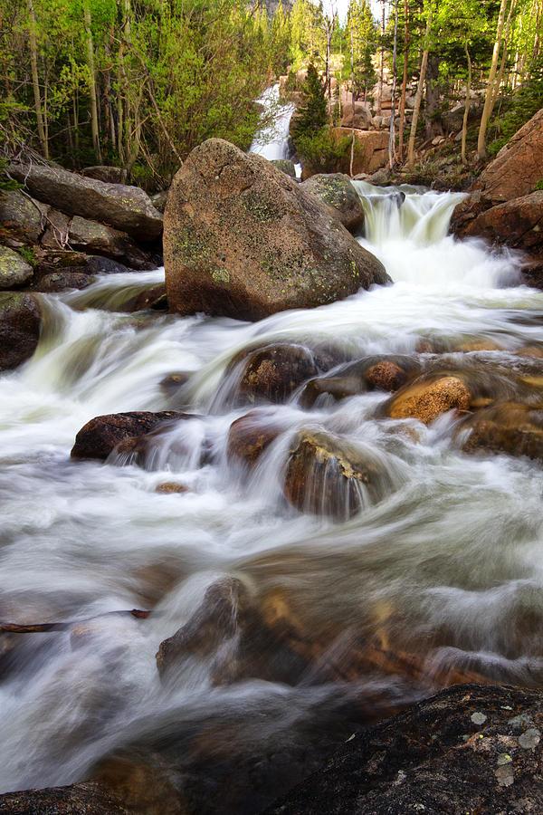 Below Alberta Falls II Photograph