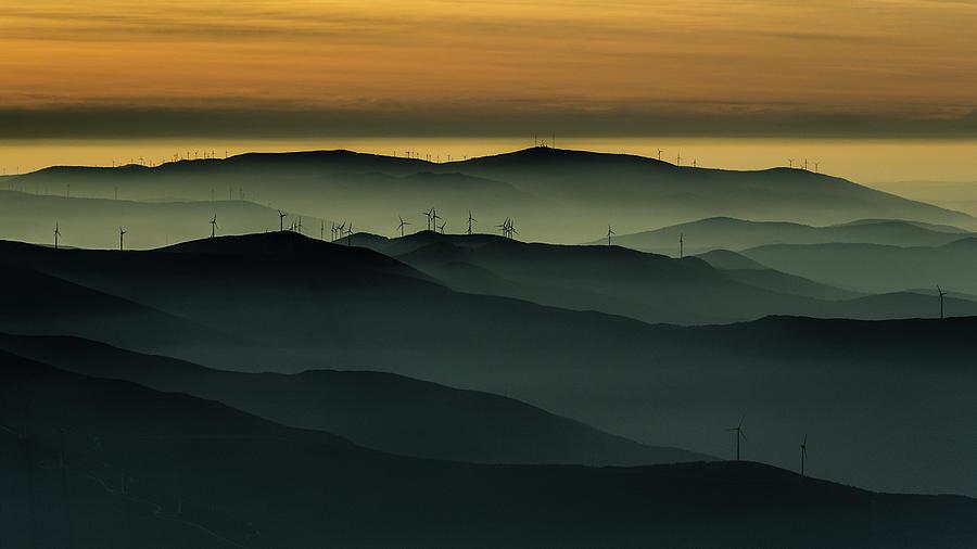 Horizon Photograph - Below The Horizon by Rui Correia