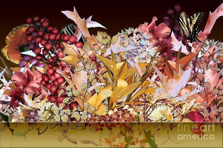 Flowers Digital Art - Below The Line by Paul Gentille