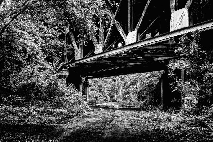 Pulaski Skyway Photograph - Below The Skyway by JC Findley