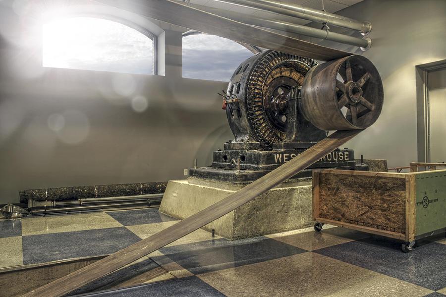 Steampunk Photograph - Belt-driven Power by Jason Politte