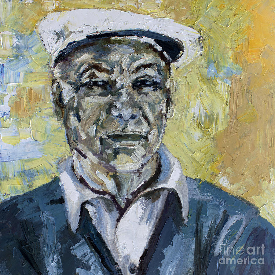 Ben Hogan The Wee Ice Mon Painting by Ginette Callaway