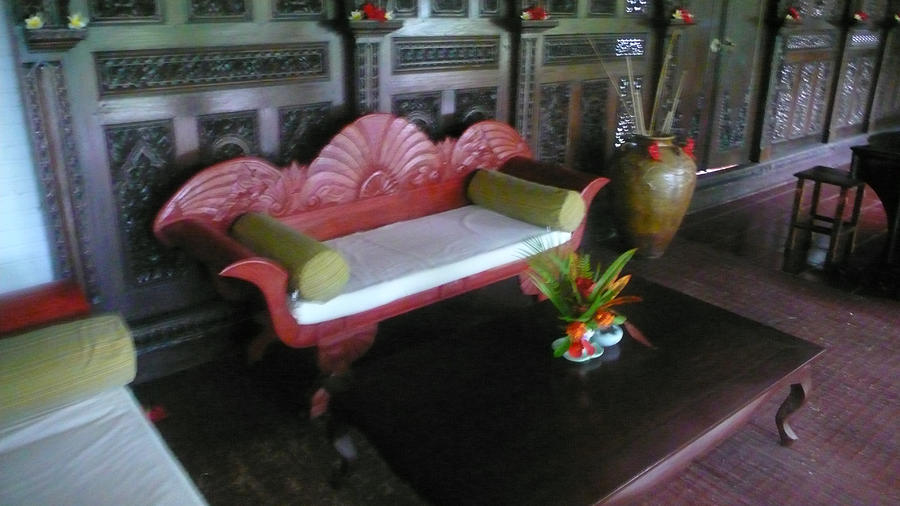 Bench Photograph - Bench in Bali by Jack Edson Adams