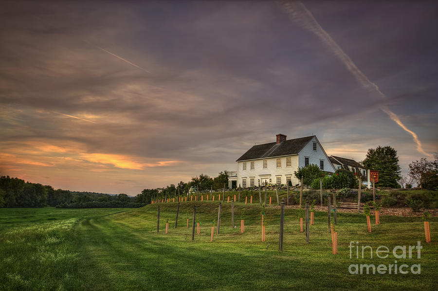 Massachusetts Photograph - Beneath An Evening Sky by Evelina Kremsdorf