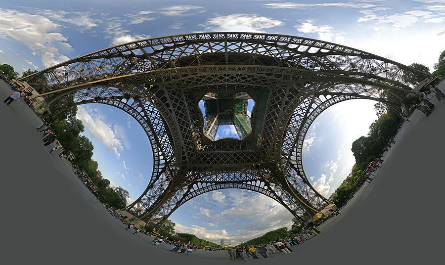 Panoramic Photographs Photograph - Beneath by Gary Lobdell