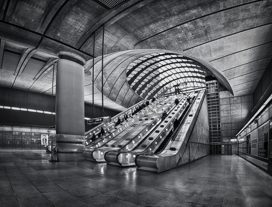 London Photograph - Beneath The Surface Of Reality by Evelina Kremsdorf