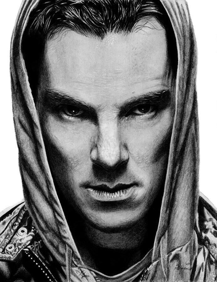 Benedict Drawing - Benedict Cumberbatch by Kayleigh Semeniuk