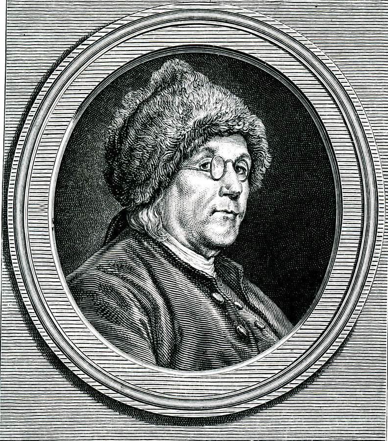 19th Century Photograph - Benjamin Franklin by Collection Abecasis