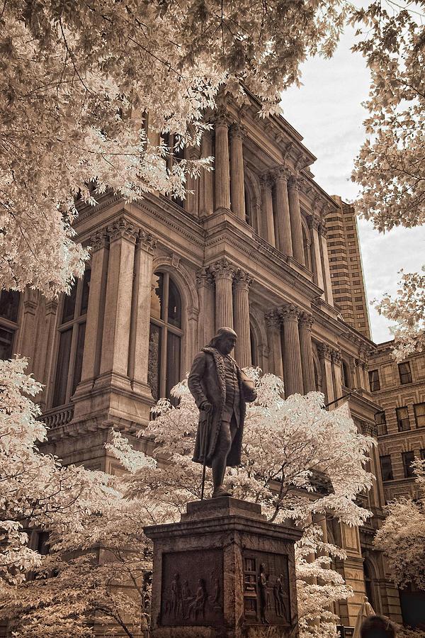 Boston Photograph - Benjamin Franklin by Joann Vitali