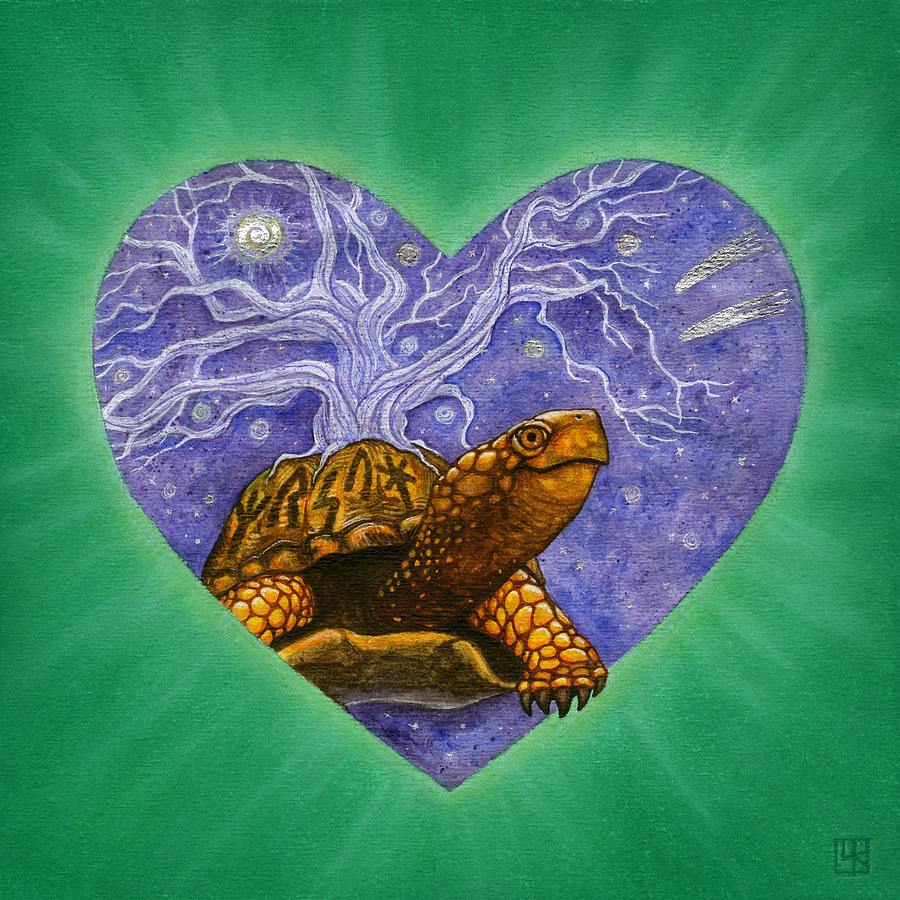 Heart Painting - Benjamin by Lisa Kretchman