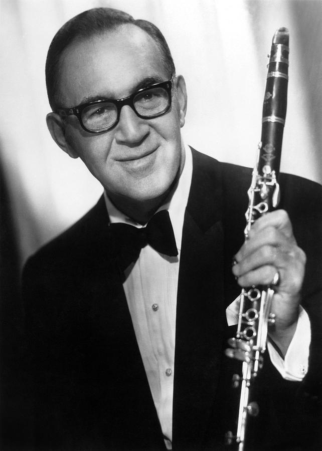20th Century Photograph - Benny Goodman (1909-1986) by Granger