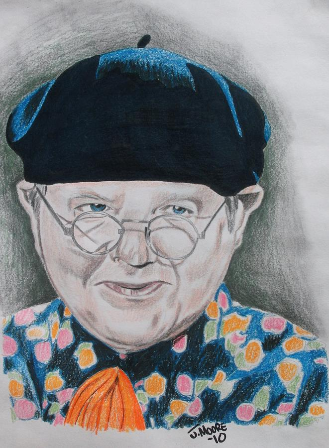 Benny Hill Drawing by Jeremy Moore