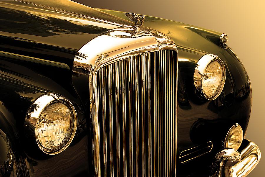 Auto Photograph - Bentley Logo Close Up  by Radoslav Nedelchev