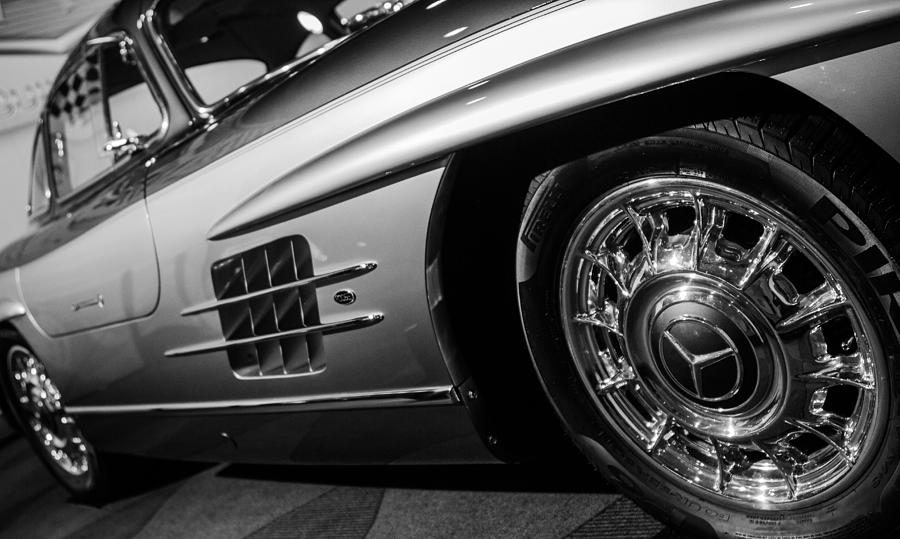Autoshow Photograph - Benz Baby by Milan Kalkan
