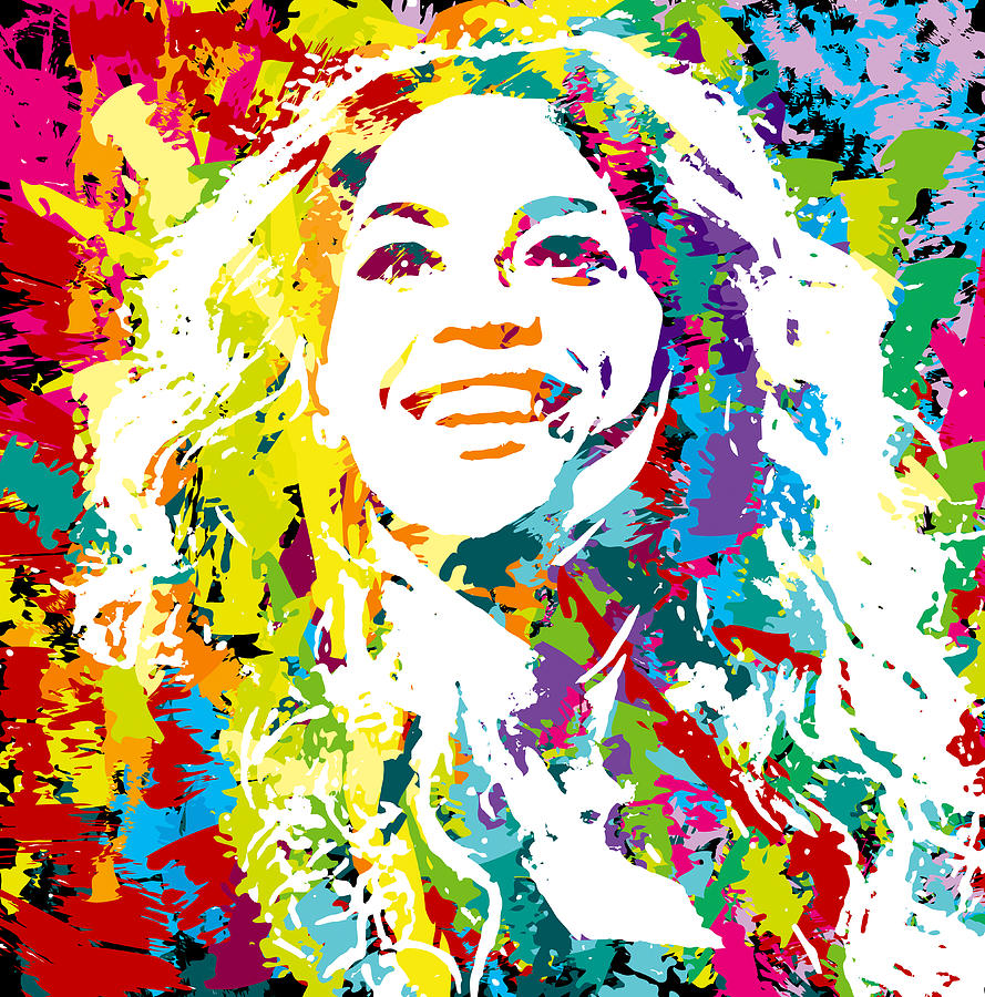 Beyonce Digital Art By Irina Effa