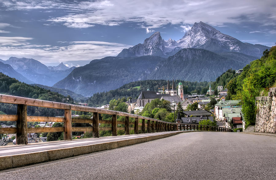 Berchtesgaden Road And Mountain Photograph by Ioan Panaite