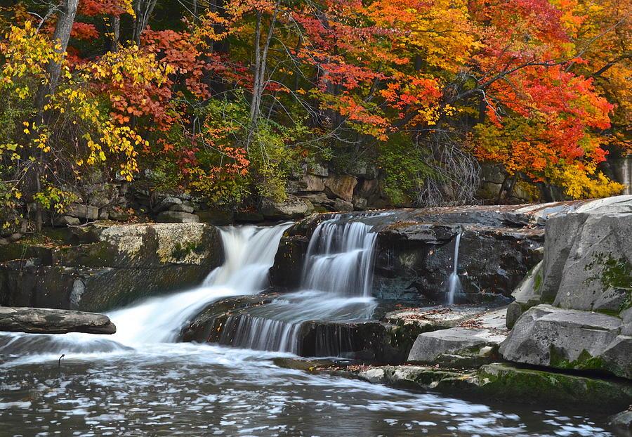 Waterfall Photograph - Berea Beauty by Frozen in Time Fine Art Photography