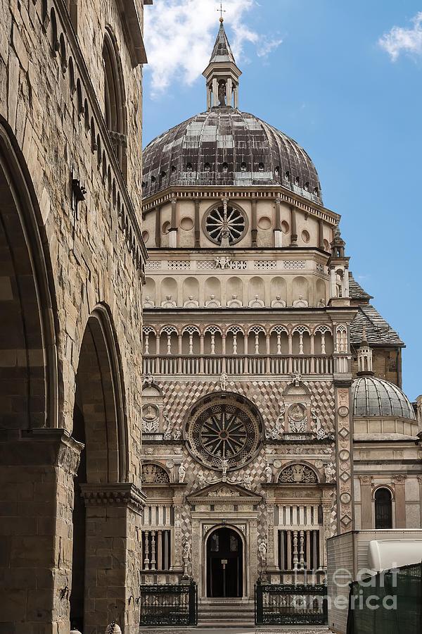 Architecture Photograph - Bergamo Cappella Colleoni  by Rostislav Bychkov