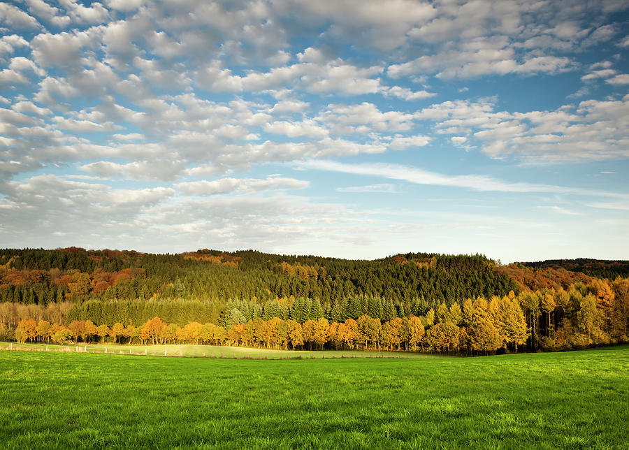 Bergisches Land Photograph by Jorg Greuel