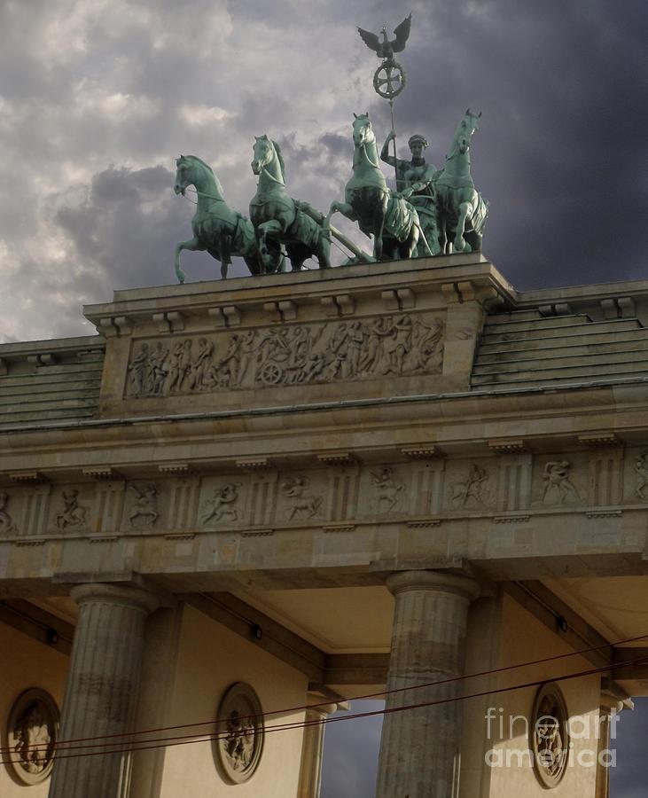 Berlin Brandenburg Gate Photograph - Berlin - Brandenburg Gate by Gregory Dyer