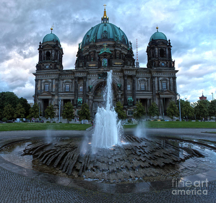 Berlin Photograph - Berlin - Cathedral by Gregory Dyer