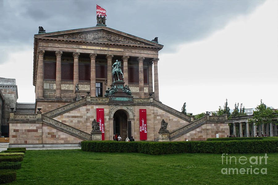 Berlin Photograph - Berlin - National Gallery by Gregory Dyer
