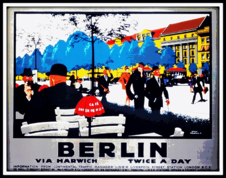 Berlin Painting - Berlin 1925 by Unknown