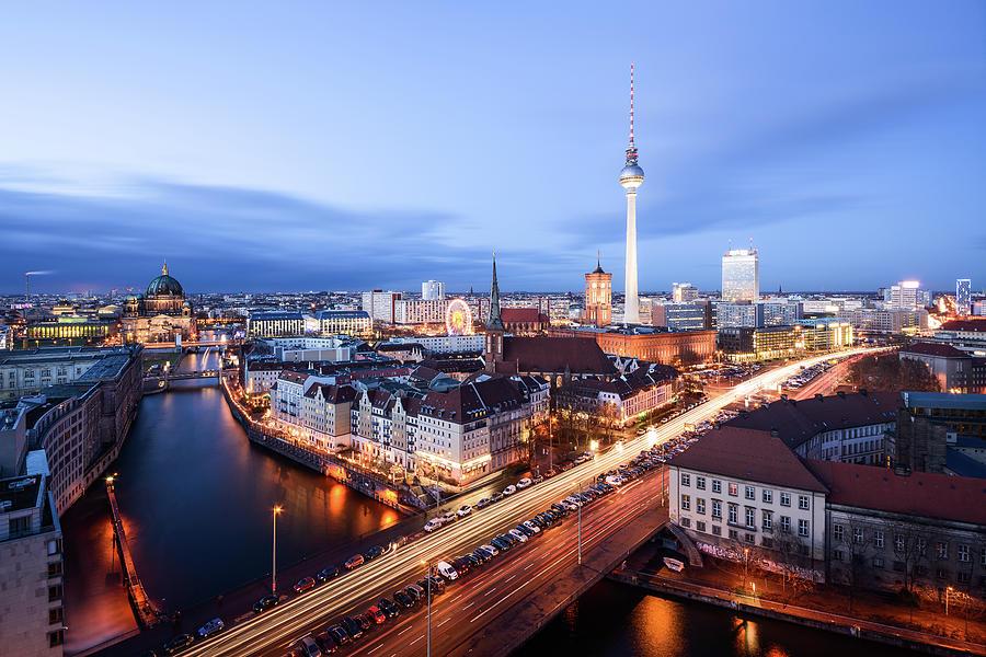 Berlin Alexanderplatz Photograph by Thanks For Visiting My Work - Tafelzwerk.