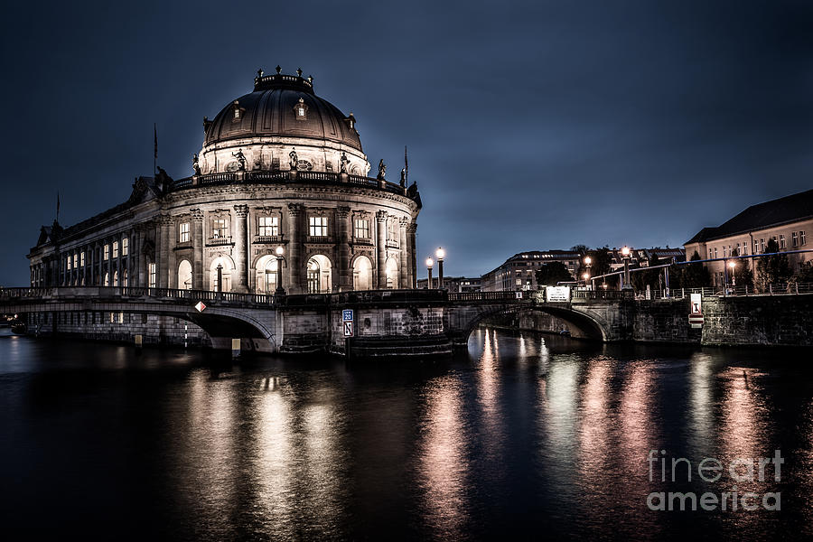 Berlin Photograph - Berlin - Bode-museum by Hannes Cmarits