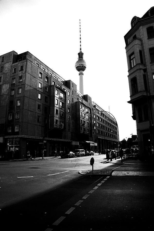 Berlin Photograph - Berlin Bw by Falko Follert