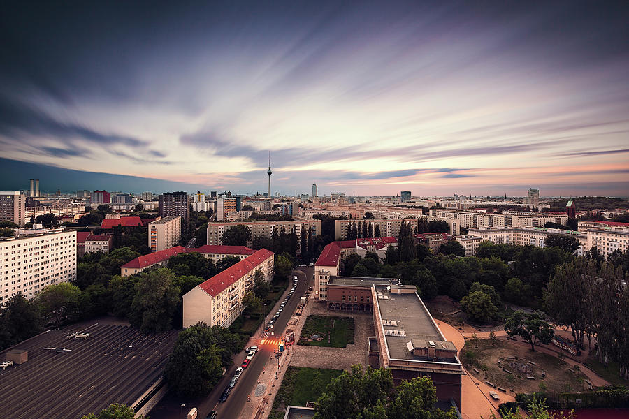 Berlin Cityscape Photograph by Ricowde