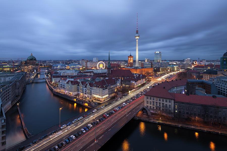 Berlin Photograph by David Bank