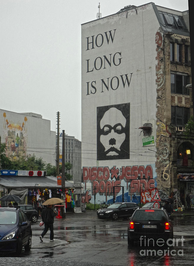 Berlin Photograph - Berlin - How Long Is Now by Gregory Dyer