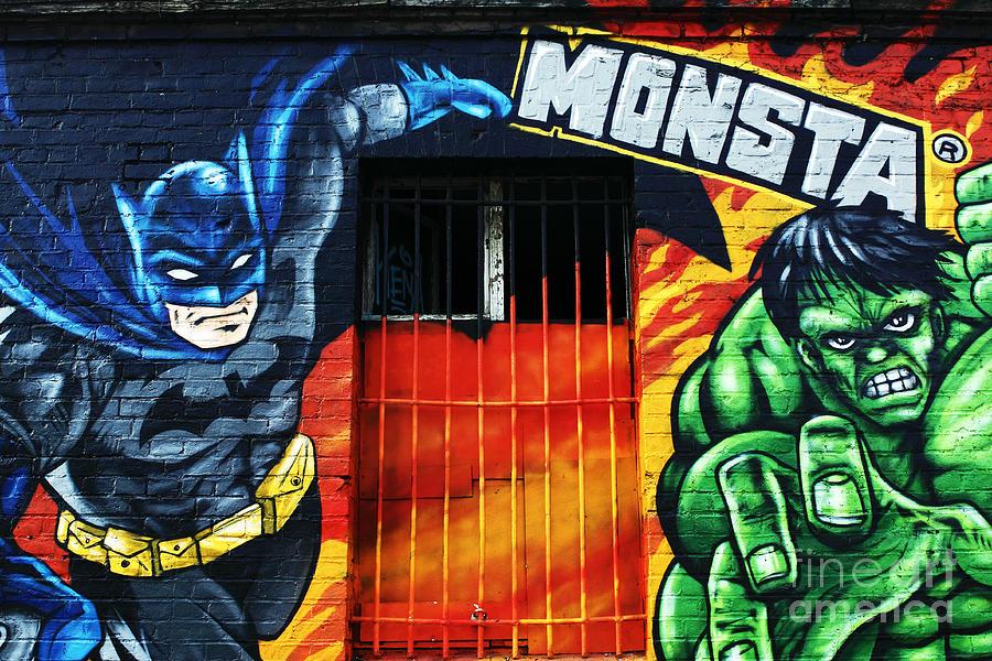 Berlin Monsta Door Photograph - Berlin Monsta Door by John Rizzuto