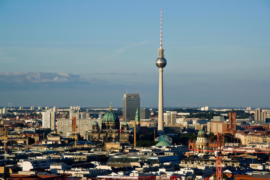 Berlin Panorama Photograph by Lore
