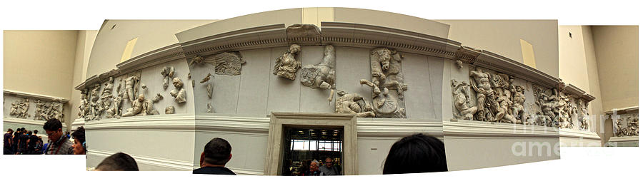 Berlin Photograph - Berlin - Pergamon Museum - No.01 by Gregory Dyer